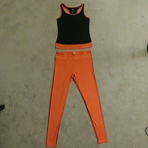 Yoshion 2-piece Exercise Outfit